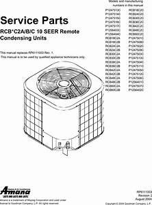 Amana Air Conditioner Rcb18c2cp1247513c Users Manual Rpt