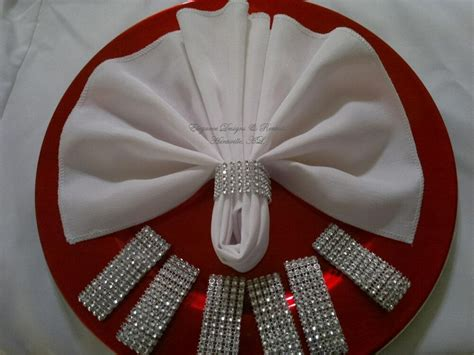 100 rhinestone bling napkin rings wedding baby shower party quincenera ebay