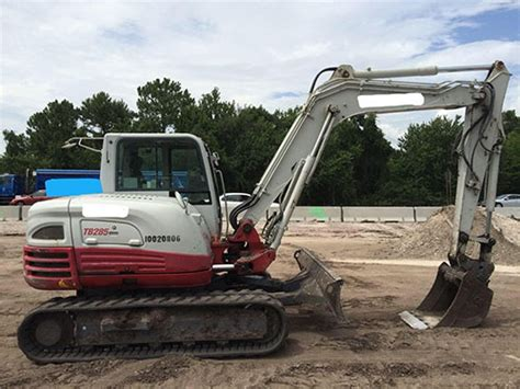 takeuchi tb hydraulic excavator  hours mattes global machinery trading
