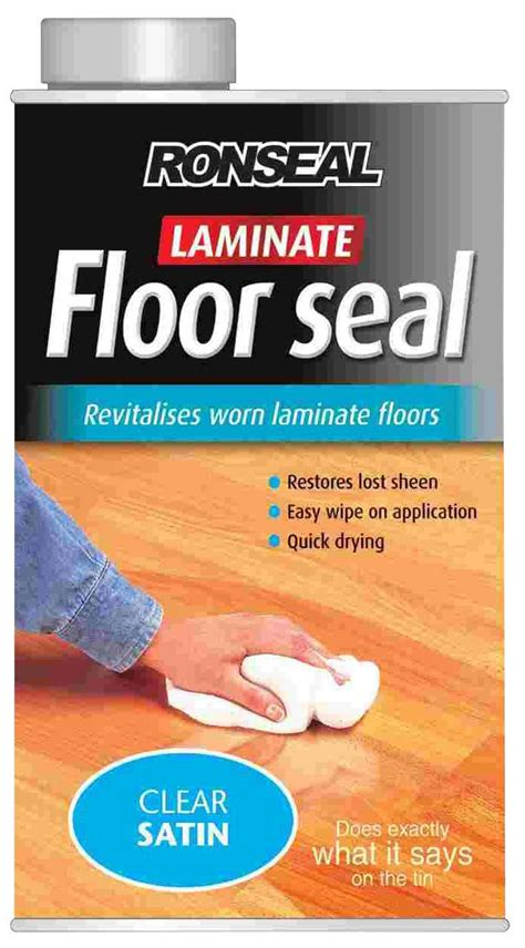 ronseal clear satin laminate floor seall departments