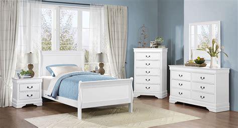 Youth Furniture Bedroom Sets by Mayville Youth Bedroom Set White Homelegance Furniture