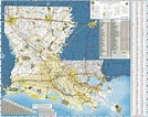 Louisiana State Highway Map - Maplets