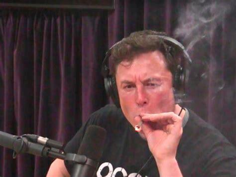 video shows elon musk tesla ceo smoking weed