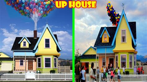 Cartoon Houses In Real Life!
