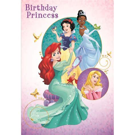 Birthday Princess Disney Princess Birthday Card (25470220