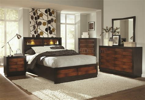 coaster bedroom furniture 202911 rolwing bedroom by coaster in oak espresso w options