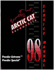 1998 Arctic Cat Powder Extreme Powder Special Snowmobile Service Manual