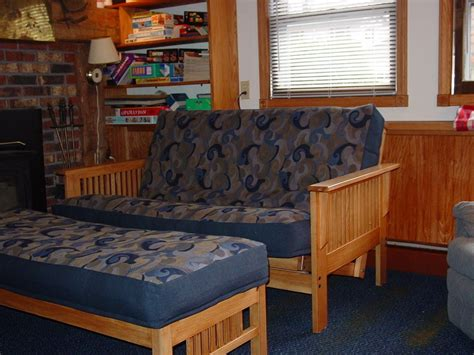made mission craftsman style futon sofa bed by