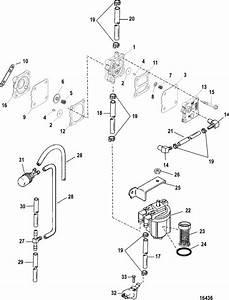 Mercury Marine 60 Hp  3 Cylinder  Fuel Pump  Manual Parts