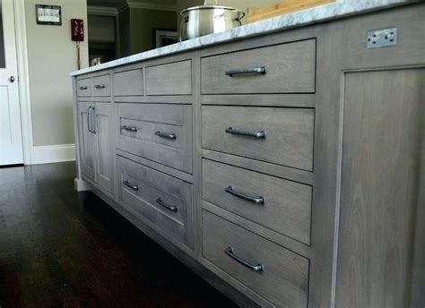 gray stained oak cabinets rustyridergirl