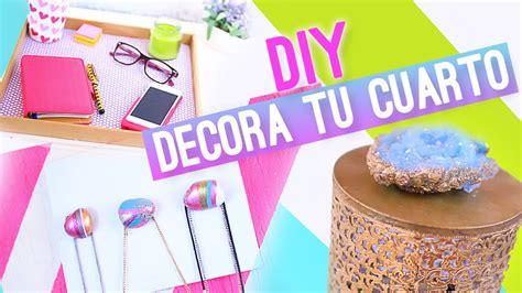 manualidades para decorar tu cuarto diy decorar tu cuarto o habitacion ideas f 193 ciles
