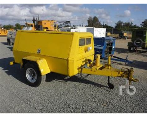 1986 ingersoll rand 185 cfm s a portable air compressor for sale perris ca mylittlesalesman