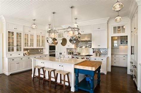 Beadboard Ceiling Kitchen : Mitch Wise Design