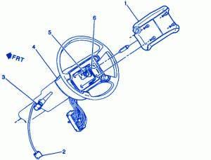 Chevrolet 1 5 Pickup 1998 Steering Electrical Circuit