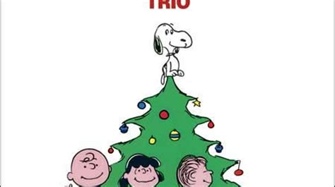 Vince Guaraldi Trio, 'a Charlie Brown Christmas'