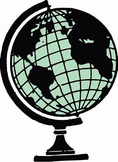 Globe Clipart Social Studies Clip Desk Vector