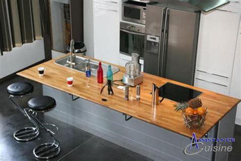 Meuble Bar Cuisine Ikea - implantation cuisine avec ilot cuisson ilot repas ilot