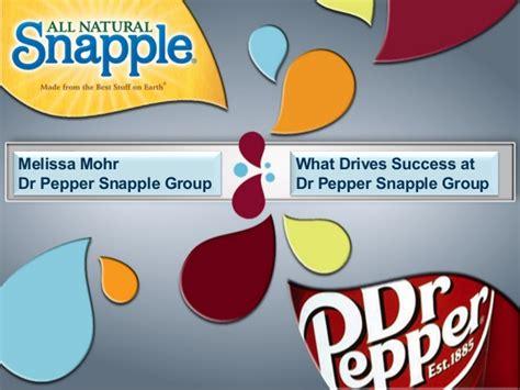 Dr Pepper Snapple Group Branding presentation