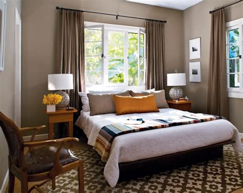 placing  bed  front   window  decorating faux