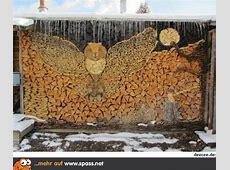 Kunstvoll Holz stapeln Lustige Bilder auf Spassnet