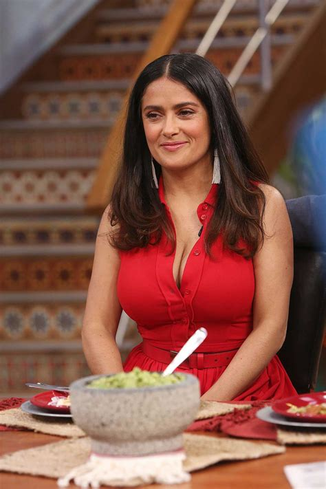 salma hayek  despierta america tv show  miami celeb