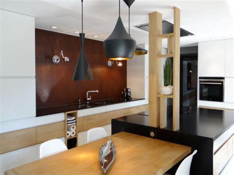 rouille cuisine bois granit et tôle rouillée pour une cuisine moderne