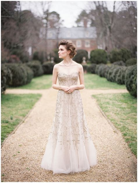 Away From The Traditional White Bridal Dresses In Colour