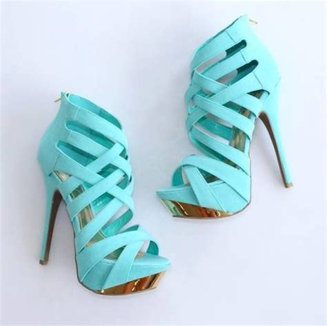 light blue strappy heels pin by dianne oler on tiffany blue pinterest turquoise