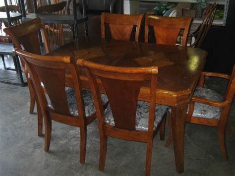 dining table with built in leaf heavy wooden dining table with 6 chairs built in leaf