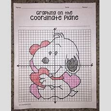 Valentine's Day (graphing On The Coordinate Plane Mystery Picture