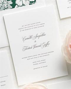 camille letterpress wedding invitations letterpress With letterpress wedding invitations singapore