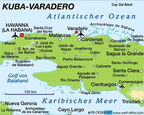 karte von varadero kuba karte auf welt atlasde