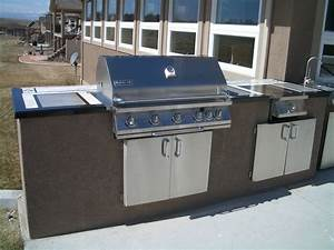 Outdoor kitchens and barbecue islands in fort collins for Outdoor bbq kitchen