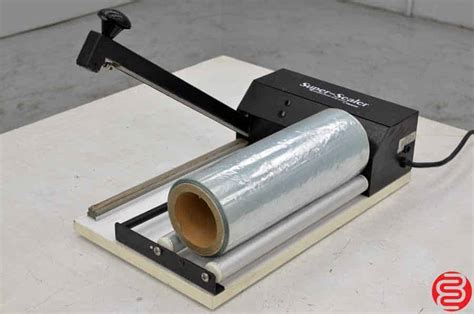 super sealer portable shrink wrapping system boggs equipment