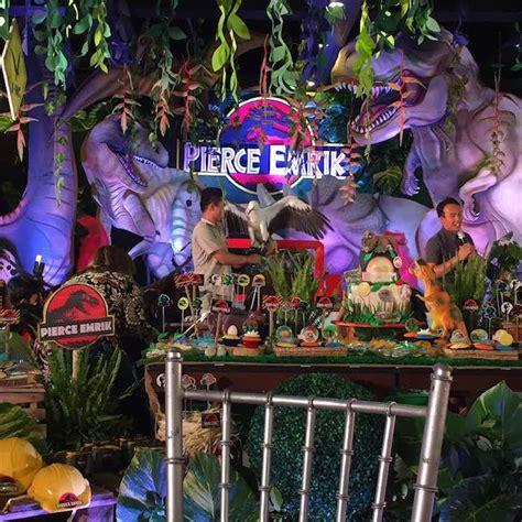 Jurassic Park Decorations - kara s ideas jurassic park themed birthday