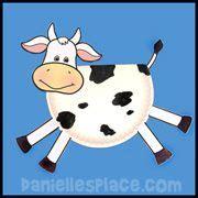 cow paper plate craft www daniellesplace events 588   00881fd7aa582f07b0b0692903bb6578