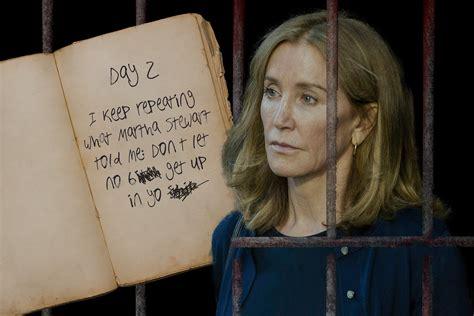 felicity prison huffman diary kept