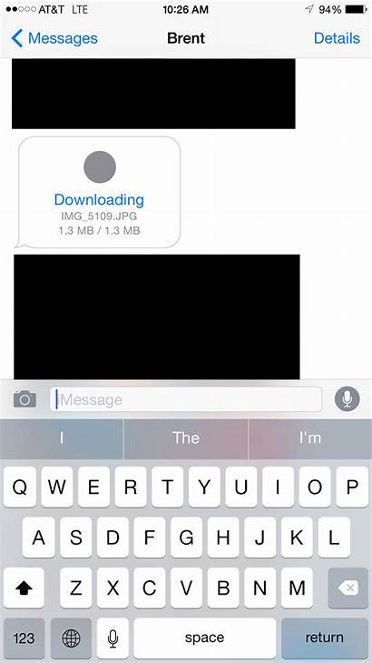 Iphone Imessage Downloading Messages App 16gb Awhile