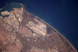 Astronaut takes stunning photos of airports from space ...