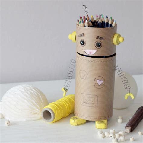 robot pour faire les pates cr 233 er un robot pot 224 crayon recycl 233 id 233 e cr 233 ativeid 233 e cr 233 ative