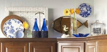 kitchen hutch decorating ideas decorating ideas for the top of kitchen cabinets pictures afreakatheart