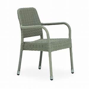 Chaise Table Jardin : chaise pour table de jardin avec accoudoirs brin d 39 ouest ~ Teatrodelosmanantiales.com Idées de Décoration