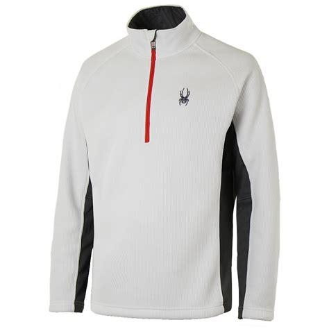 mens half zip sweater spyder outbound half zip midweight sweater 39 s ebay