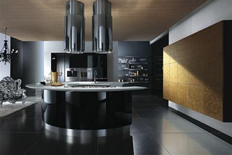 magia negra en la cocina  ideas de muebles en negro