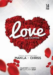 Exclusive, Valentines, Day, Party, Free, Flyer, Psd, Template
