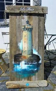 Peinture Effet Bois Flotté : phare du four peinture bois flott deco finistere ~ Dailycaller-alerts.com Idées de Décoration