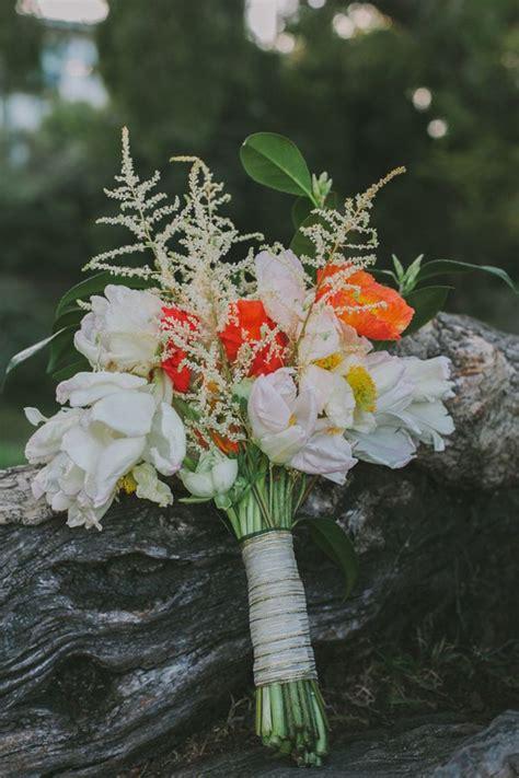 gold  green san francisco wedding bouquets wedding