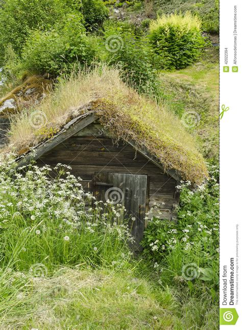 Grass Hut Roof by Wooden Hut Stock Photo Image Of Shelter Groof Building