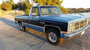 1987 Gmc 2500 454 Big Block Truck Sierra Classic 3  4 Ton