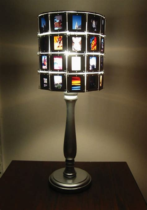 Diy Photo Slide Lamp Shade Diy Projects For Everyone